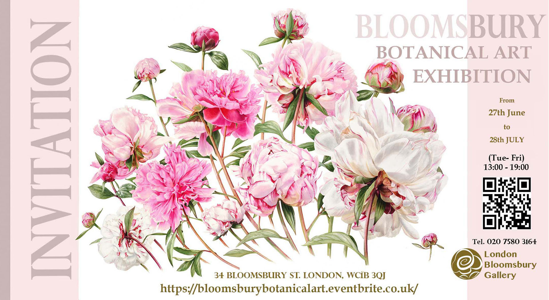 Botantanical Art Exhibition Bloomsbury Gallery